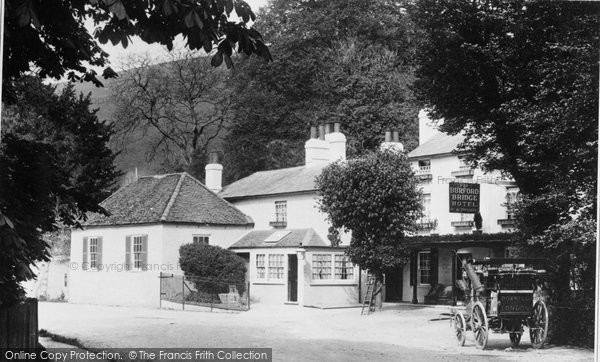 Box Hill, Burford Bridge Hotel 1897