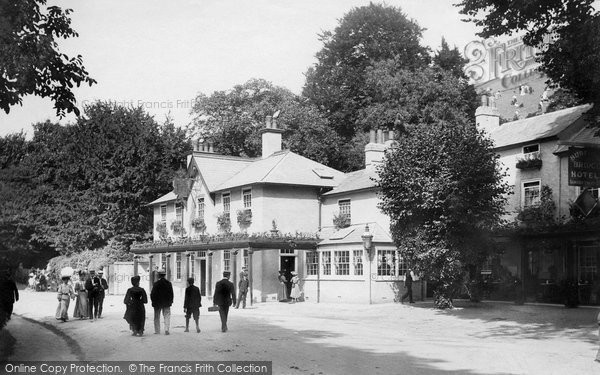 Box Hill, Burford Bridge Hotel 1906