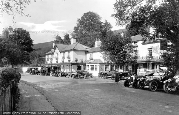 Box Hill, Burford Bridge Hotel 1922