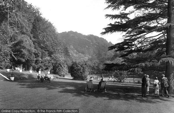 Box Hill, Burford Bridge Hotel Garden 1922