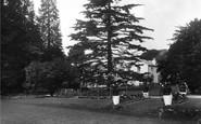 Box Hill, Burford Bridge Hotel Gardens 1931