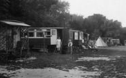 Box Hill, Caravans, Upper Farm Camp 1928