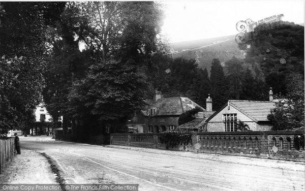 Box Hill, From Burford Bridge 1906
