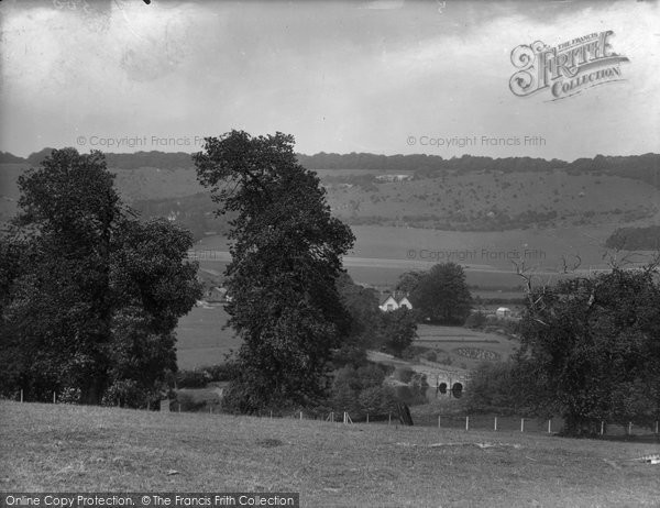 Box Hill, From Dorking Road 1927