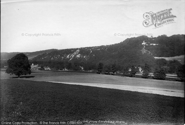 Box Hill, From Lordships 1900