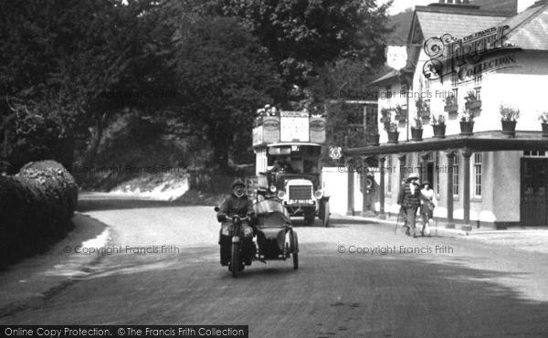Box Hill Motor Vehicles 1922 Francis Frith