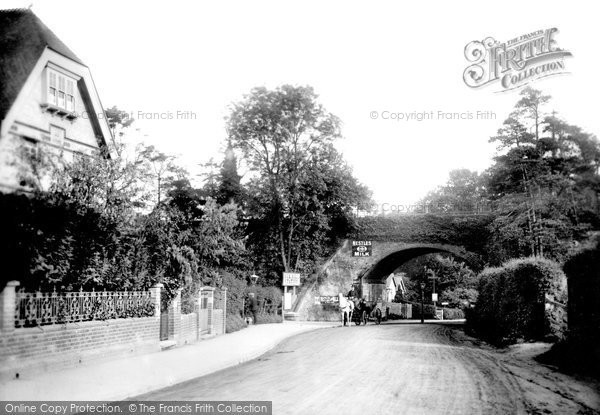 Box Hill, The Entrance To Boxhill Station 1907