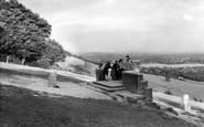 Box Hill, The Lookout c.1955