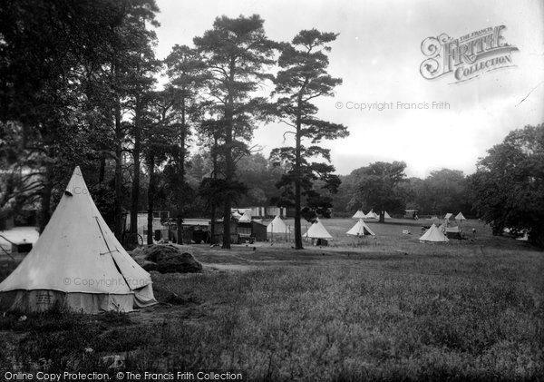 Box Hill, Upper Farm Camp 1925