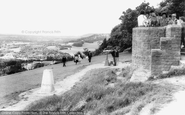 Box Hill, View From The Lookout c.1955