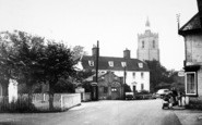 Boxford, Broad Street And The Church c.1955