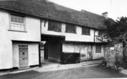 Boxford, Butchers Lane c.1955