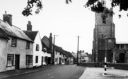 Boxford, Church Street c.1955