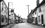 Boxford, Swan Street c.1955