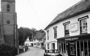 Boxford, The Church And Post Office c.1960