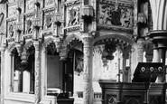 Boxgrove, Church, De La Warr Chantry 1899