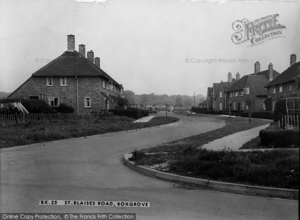 Boxgrove, St Blaises Road c.1960