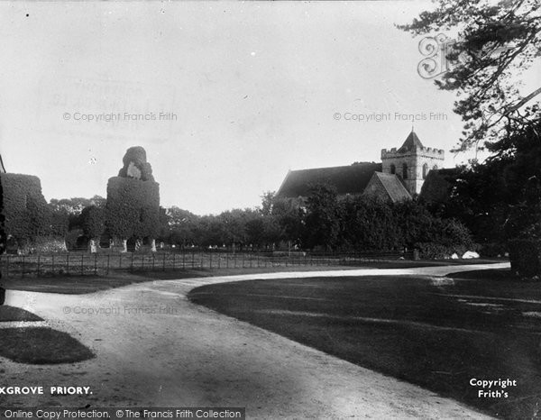 Boxgrove, The Priory 1899