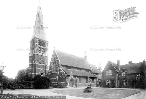 Boyn Hill, All Saints Church 1896