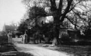Boynton, The Church And Vicarage c.1885