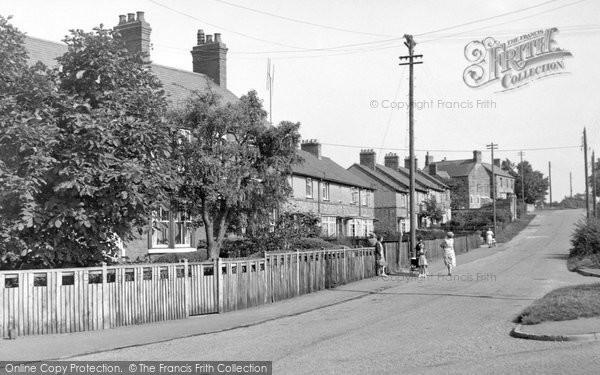Bozeat, Allens Hill c.1955