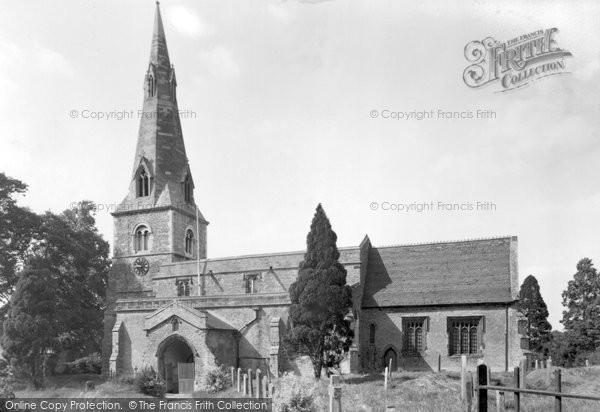 Bozeat, Church Of St Mary c.1955
