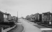 Bozeat, Fullwell Road c.1960