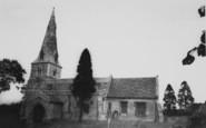 Bozeat, The Church c.1955