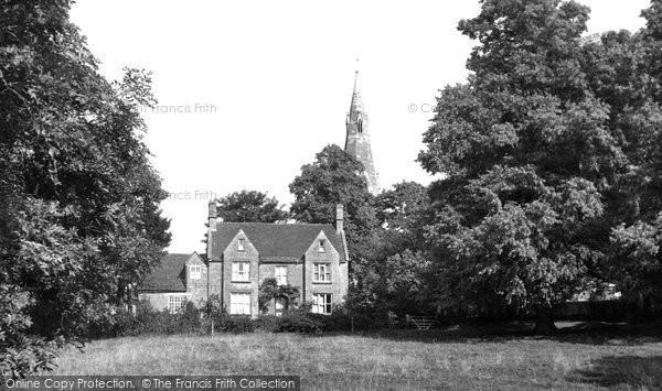 Bozeat, The Vicarage c.1960
