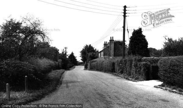 Brabourne Lees, The Village c.1955