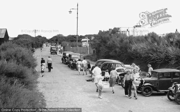 Bracklesham Bay, Bracklesham Lane c.1955