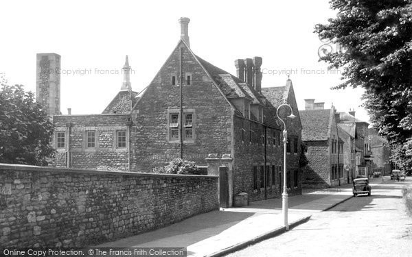 Brackley, Magdalen College School c.1955