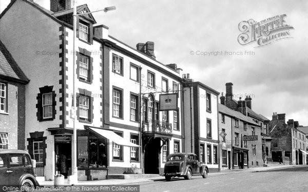 Brackley, The Crown Hotel c.1955