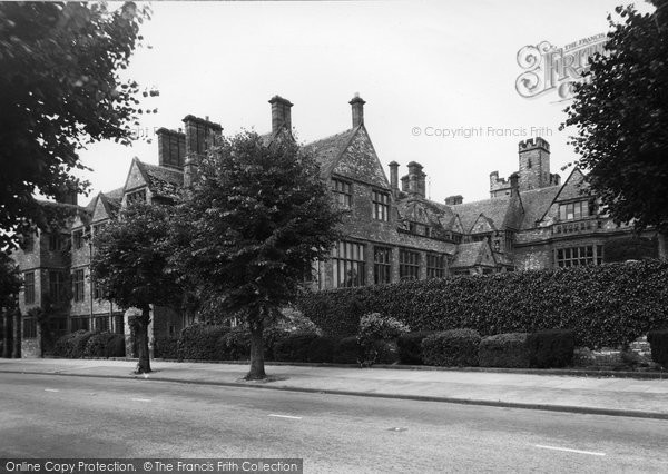 Brackley, Winchester House School c.1955