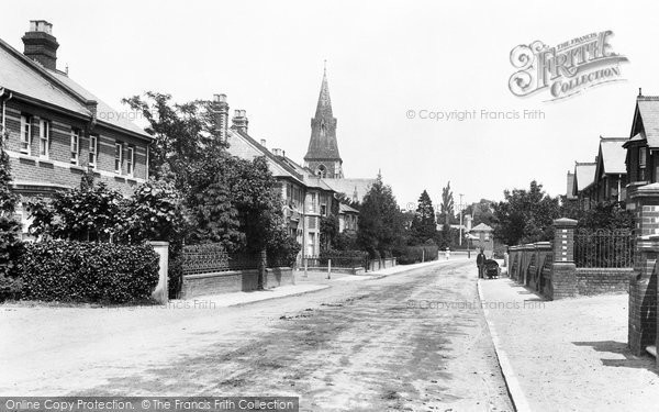 Photo of Bracknell, Church Road 1901