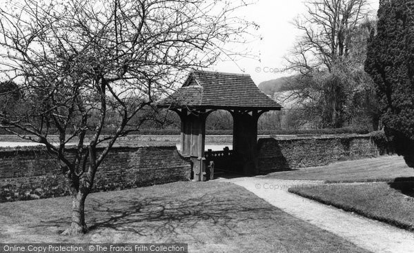 Bradenham, Church Lychgate c.1960
