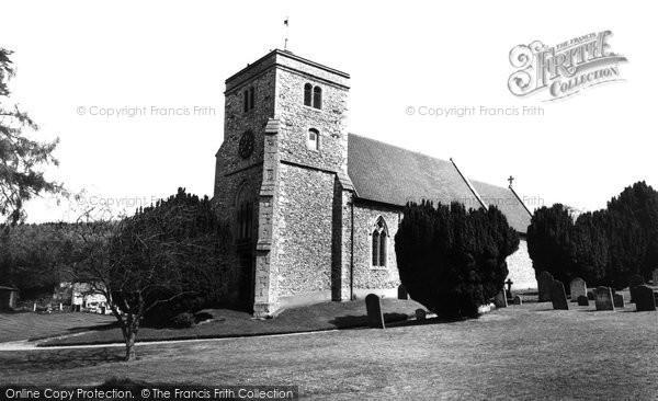 Bradenham, St Botolph's Church c.1955
