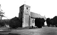 Bradenham, St Botolph's Church c.1955