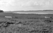 Bradfield, River Stour And Foreshore c.1955