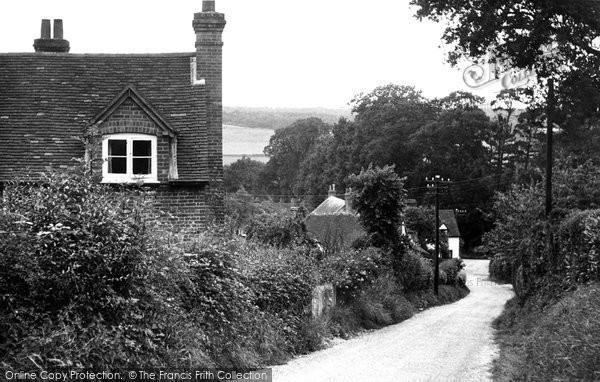 Bradfield, Rotten Row c.1960