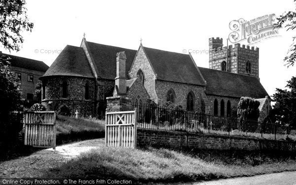 Bradfield, St Andrew's Church c.1955