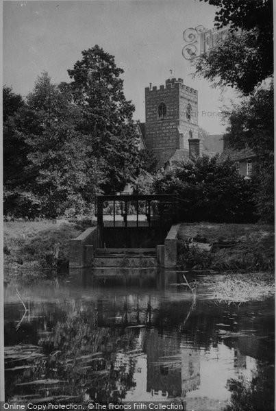 Bradfield, St Andrew's Church c.1955