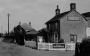 Bradfield, The Heath, 'c Sparkes Corner Shop' c.1955