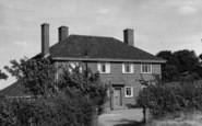 Bradfield, The Vicarage c.1955