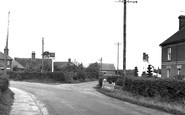 Bradfield, 'the Village Maid' Corner c.1955