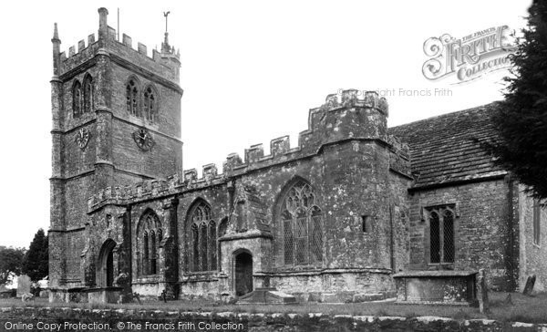 Bradford Abbas, The Church Of St Mary The Virgin c.1955