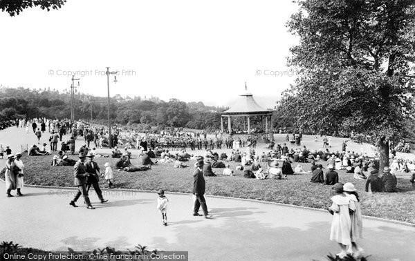 Bradford, Lister Park Bandstand 1923