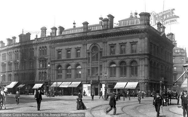 Bradford, Mechanics' Institute, Market Street 1897