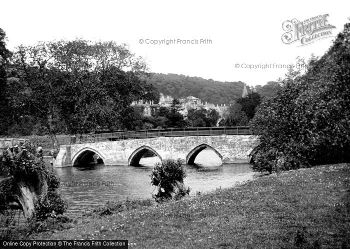 Bradford On Avon, Barton Bridge 1914