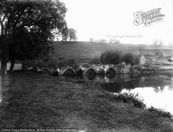 Bradford On Avon, Barton Bridge c.1900
